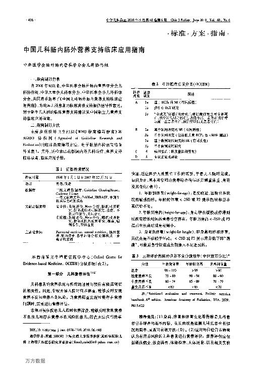 中国儿科肠内肠外营养支持临床应用指南.pdf